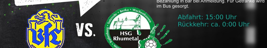 HSG Rhumetal_SpielankündigungWittin