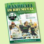 HSG Rhumetal Hallenheft 2018-01.indd